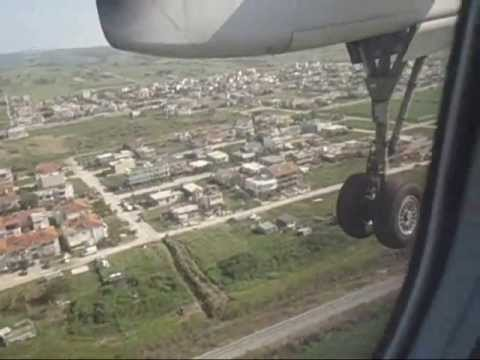 Flight trip from Athens to Alexandroupoli (Greece) !