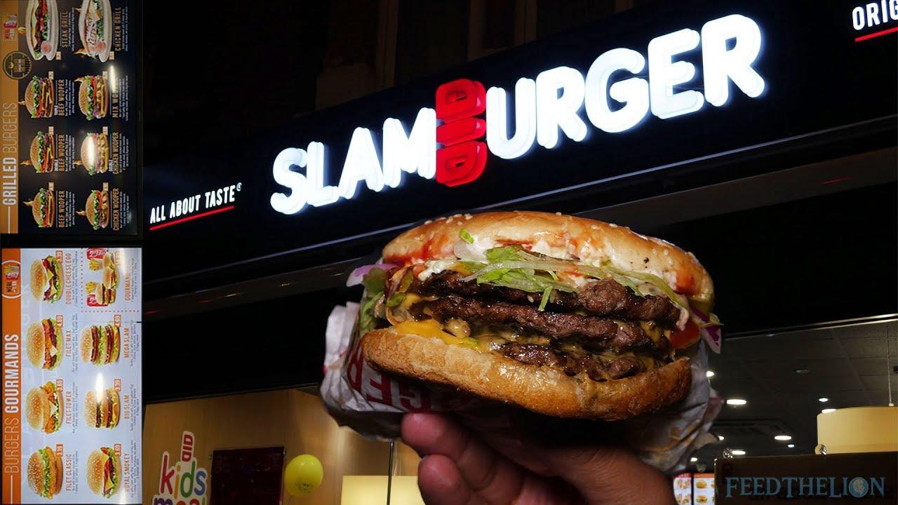 Slamburger Is Your Halal Alternative To Mcdonald S And Burger King In Walthamstow London Youtube