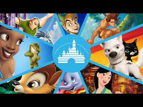The Best & Worst Disney Animated Movies Ranked Part 2 of 3 : Movie Feuds ep166