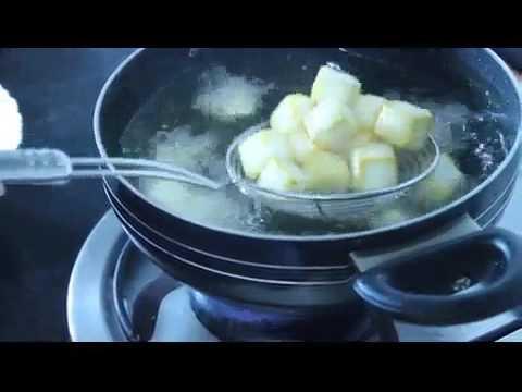 Method of frying Nik's Frozen Malai Paneer