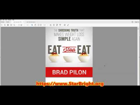 Eat Stop Eat Review: A Sneak Preview of the Book!
