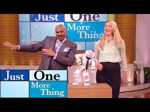 This robot got jokes!