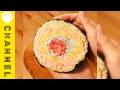 カラフル爆弾投下! レインボーおにぎり | Rainbow rice ball