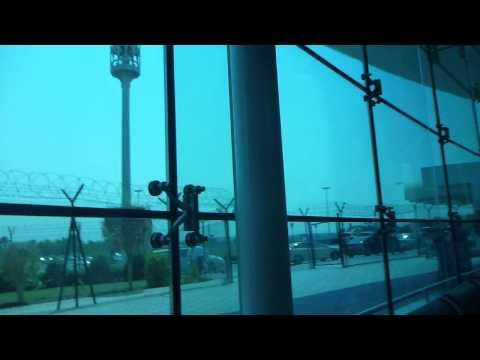Waiting at Sharjah International Airport   UAE   August 2015