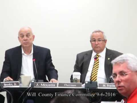 Will County Finance Committee 9 6 2016