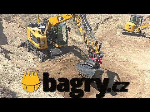 Cat M315F with tiltrotator
