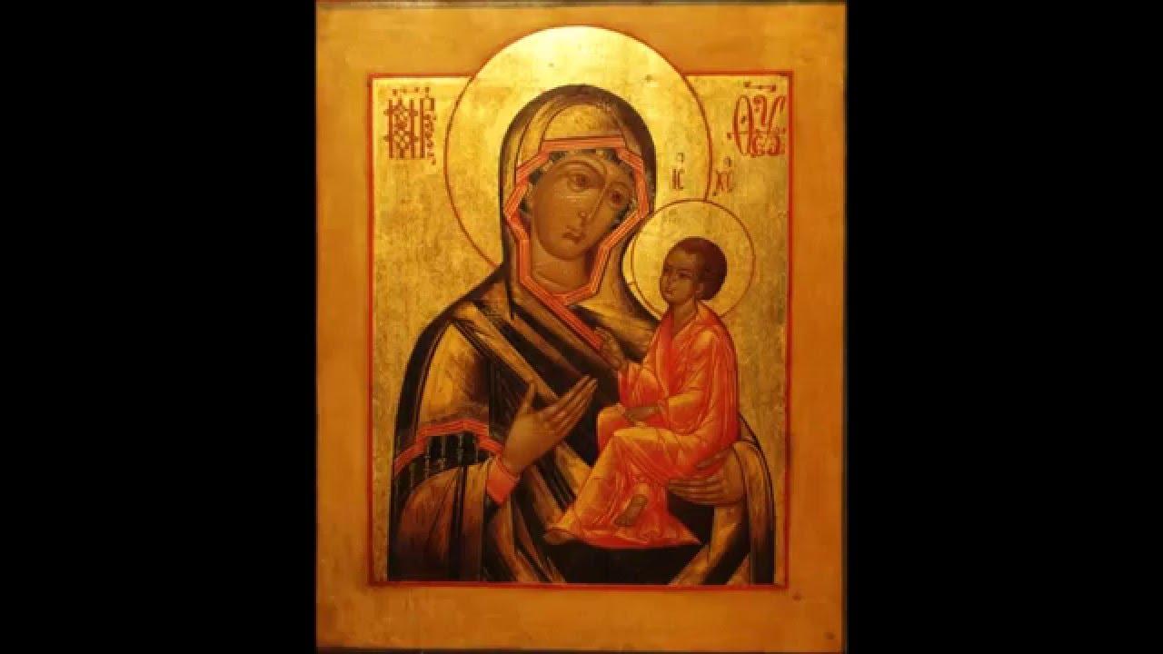 Акафист Пресвятой Богородице Тихвинская