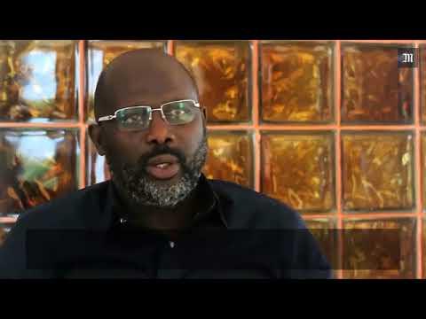 La première interview du nouveau Président du Liberia George Weah