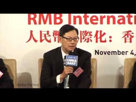 20111104 Hong Kong's Visions and Strategies for RMB Internationalization