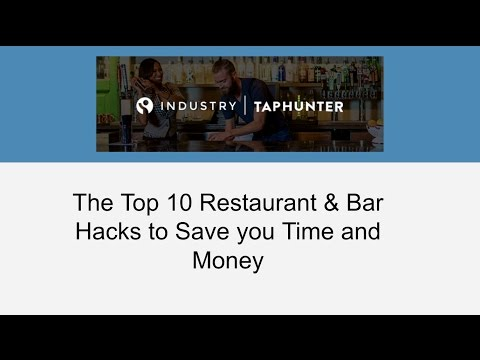 10 Restaurant & Bar Hacks to Save You Time and Money