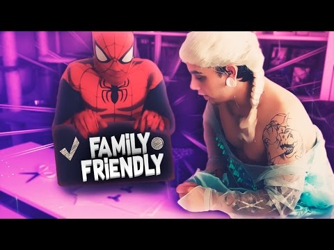 Download Youtube: SPIDERMAN and ELSA play FIDGET SPINNER and sing FINGER FAMILY SONG (Family-friendly content)