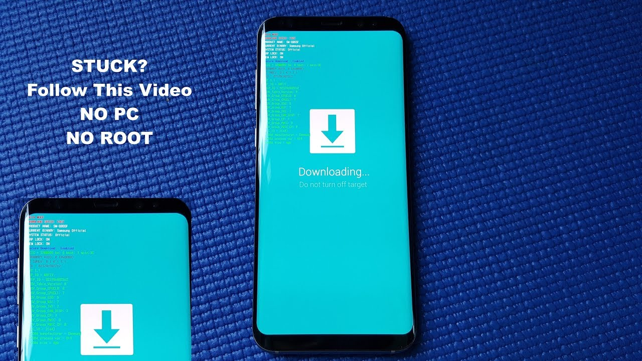 Stuck Download Mode on Samsung Galaxy S8, S8+ (EASY FIX)