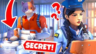 EXTREME Prison Escape: KIT & MEOWSCLES TEAM UP! (Fortnite Cops & Robbers)