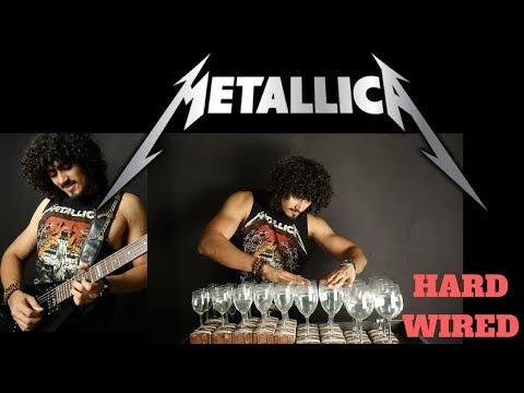 "METALLICA's ""Hardwired"" Covered on Wine Glasses 