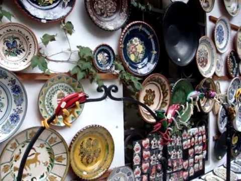 Hungarian Ceramics at Szentendre near Budapest MOV08445