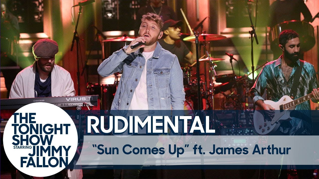 VIDEO: Rudimental Performs 'Sun Comes Up' ft. James Arthur on TONIGHT SHOW