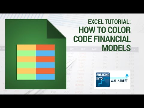 excel for investment banking youtube