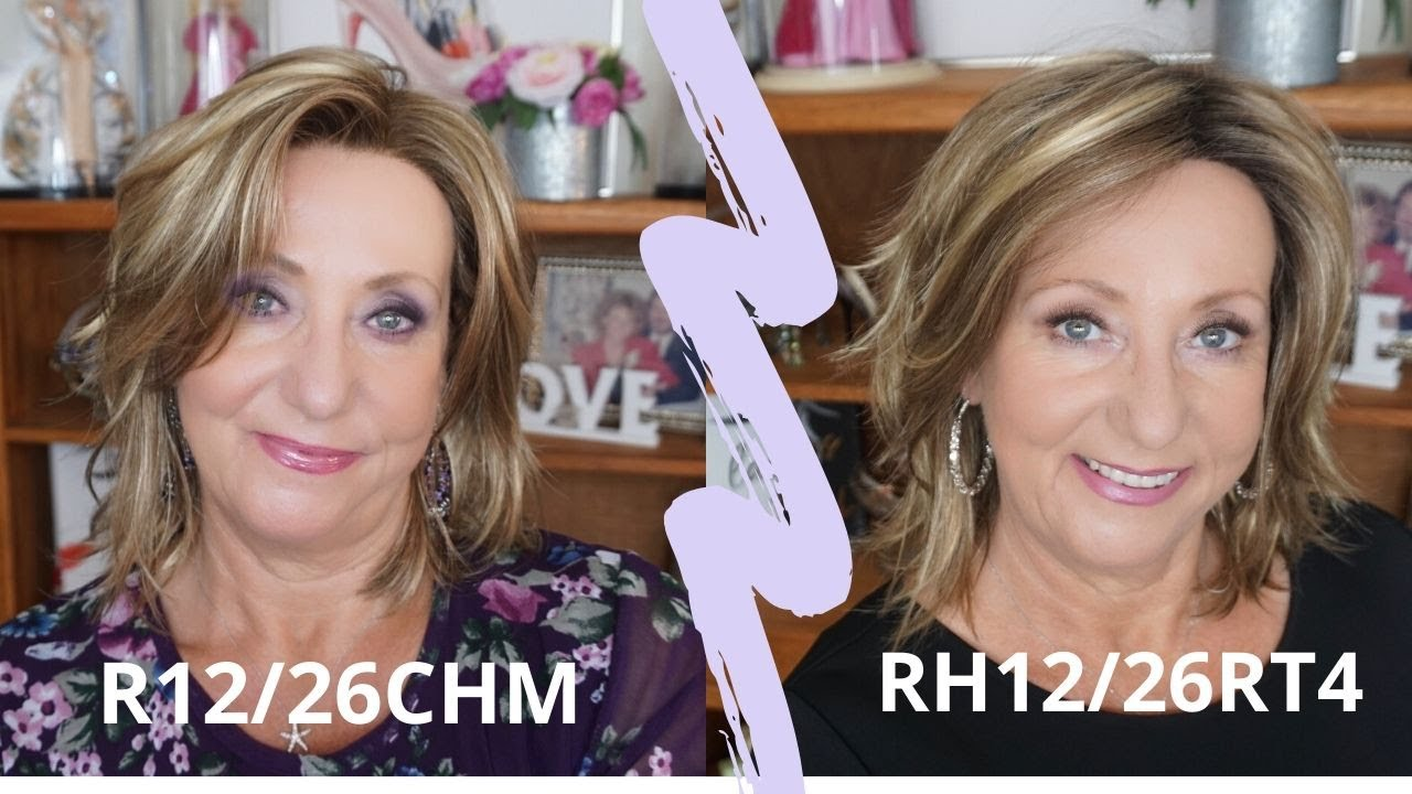 Download Estetica Mellow in R12/26CH and RH12/26RT4 | Wig Review | Monika's Wig Gig