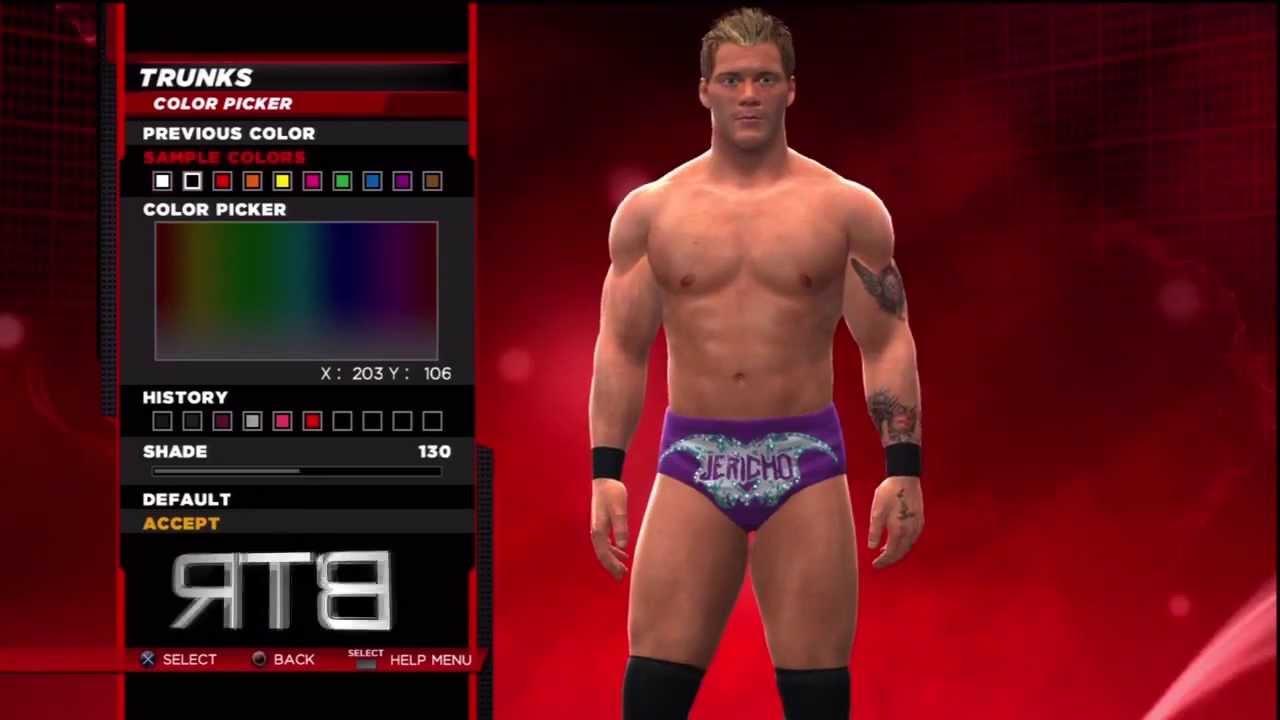 WWE 2K14 Superstar Threads Chris Jericho Raw January 28th 2013 Attire