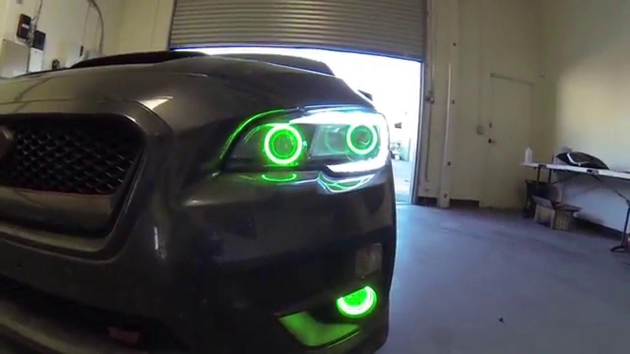 2015 Subaru Wrx Sti W Dual Projector Retrofit Rgb Halo S