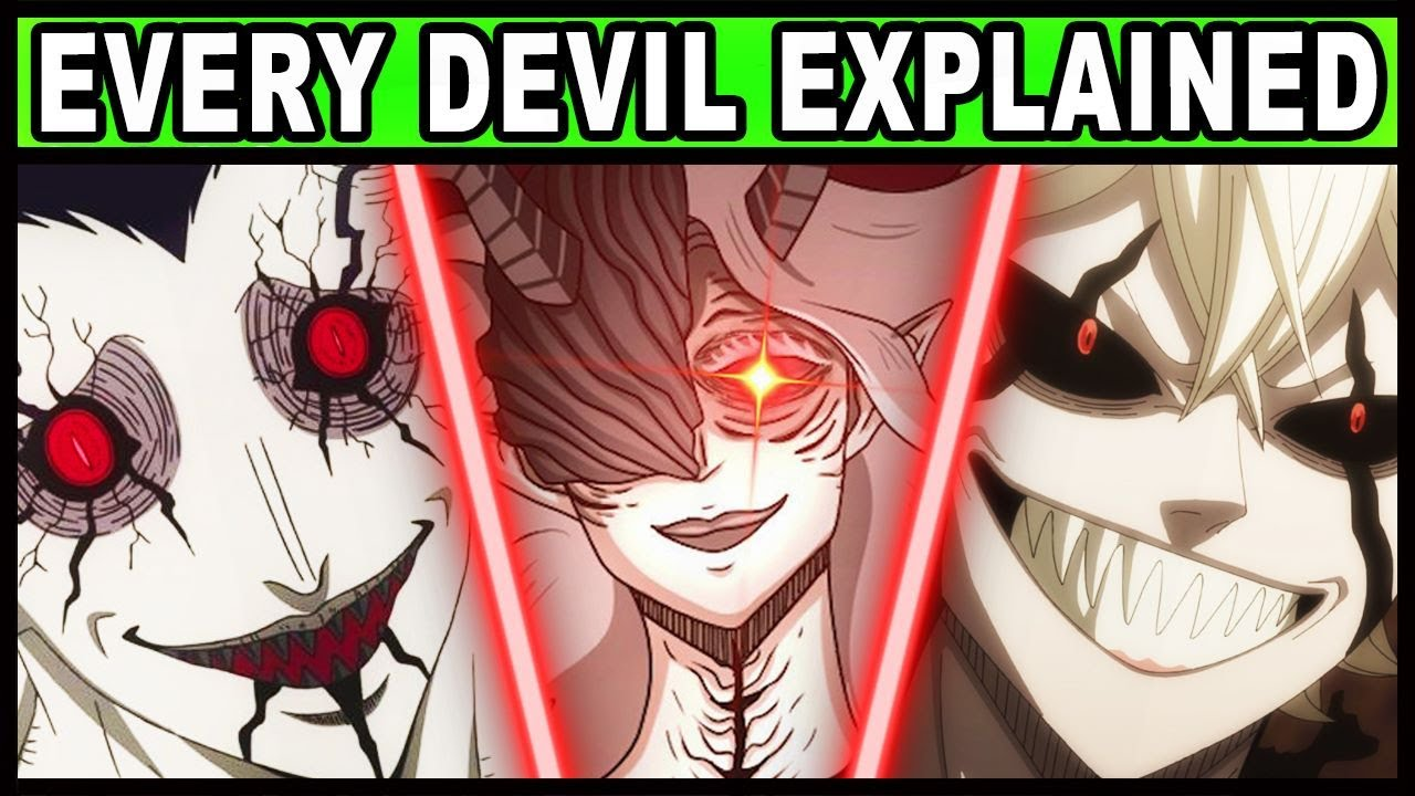 Download Every Devil and Their Powers Explained! | Black Clover All Devils Including Liebe, Lucifero, Zagred