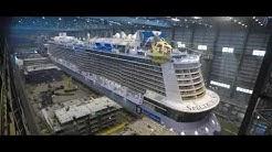 MEYER WERFT - Der Bau der Spectrum of the Seas