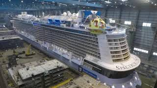 MEYER WERFT Der Bau der Spectrum of the Seas