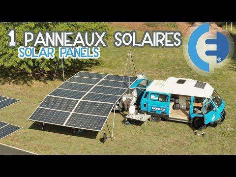 J'AI MIS 8000W de panneaux solaires sur mon van électrique ! Vidéo 1 du tour de France solaire