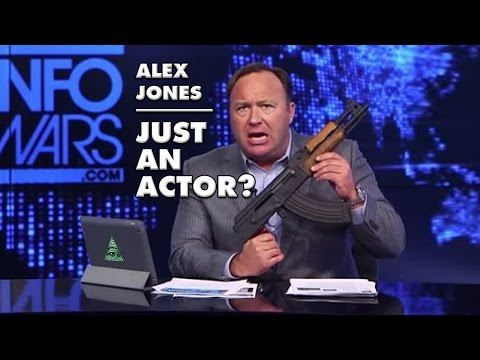 😂 Alex Jones Confirms He Is An Actor Live On Air!