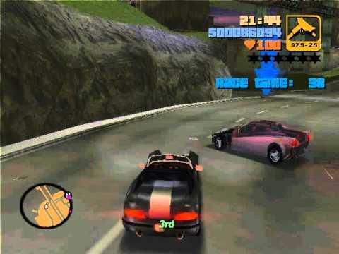 GTA III Mission # 13 - Turismo - Walkthrough - YouTube