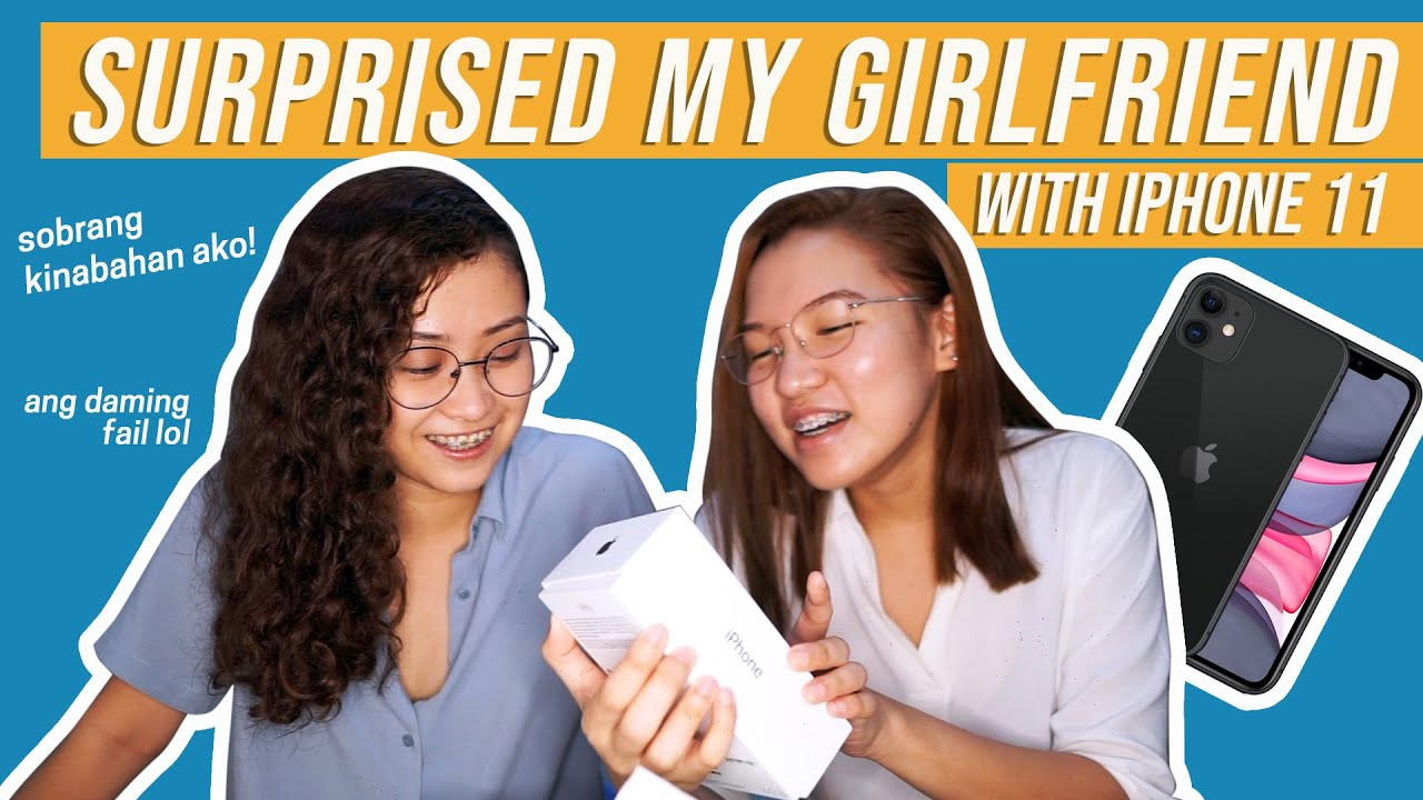 Photo of SURPRISED MY GIRLFRIEND WITH AN IPHONE 11 | LGBT | #RoTin – ايفون