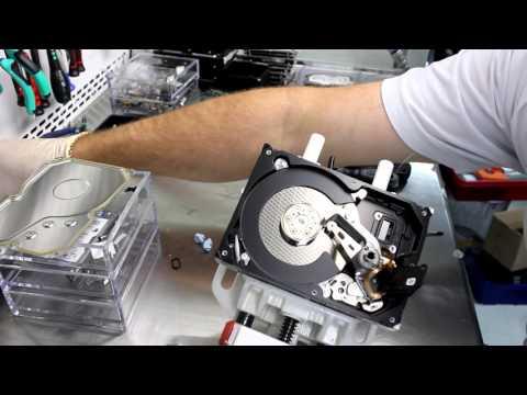 Вопрос: Как поменять пластины жесткого диска?