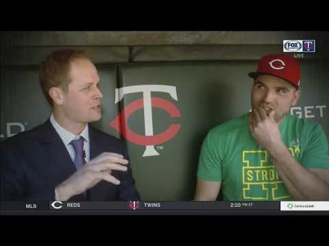 Conversation with two Canadian sluggers: Morneau & Votto
