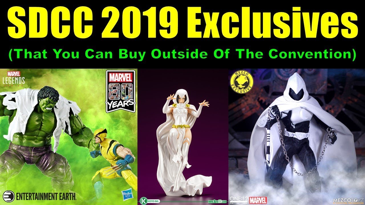 SDCC 2019 Exclusives