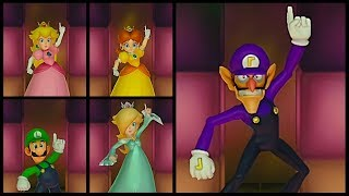 Super Mario Party Time to Shine All Model Characters Posing