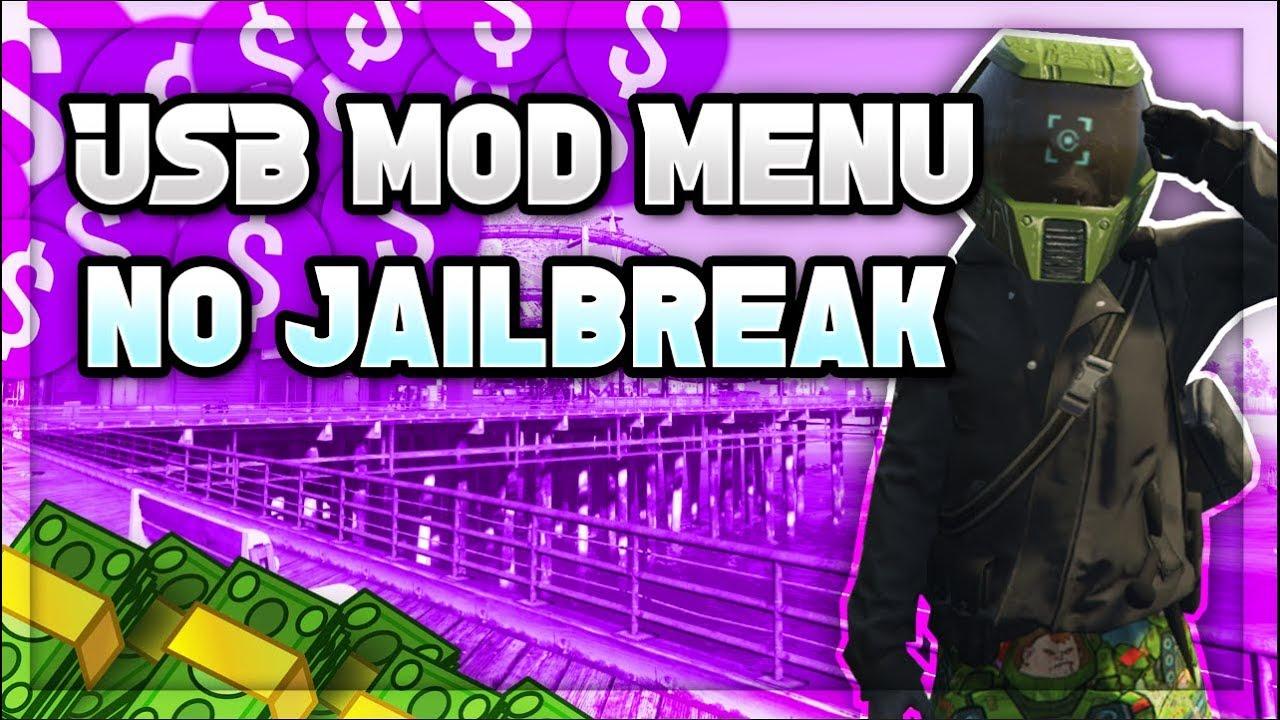 Gta 5 Online New Usb Mod Menu No Jailbreak Ps3 Ps4 Xbox