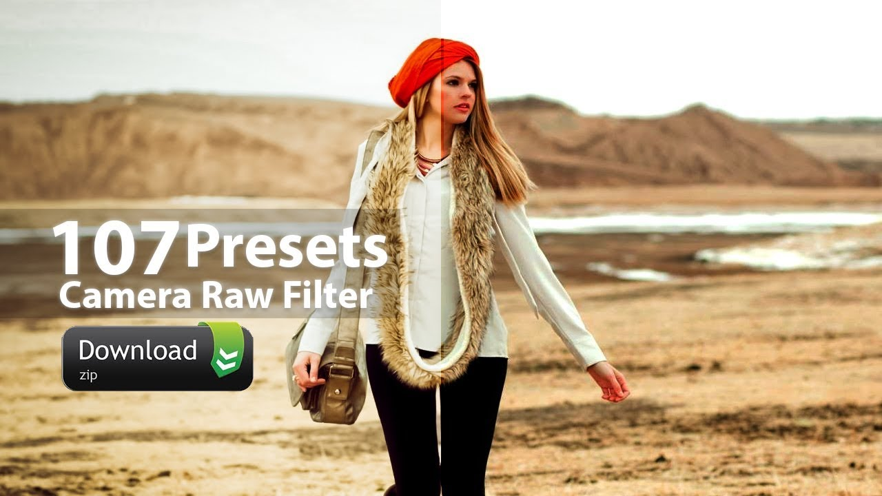 107 Free Presets for Camera Raw Filter in Photoshop - YouTube
