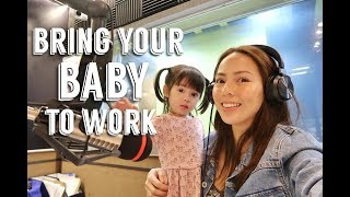 Bring your baby to work + New Laptop! | Andi Manzano Reyes