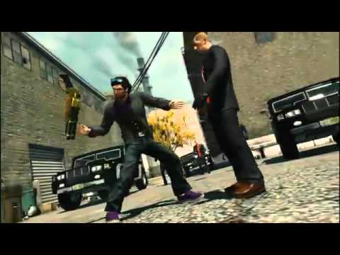 Saints Row The Third Story trailer
