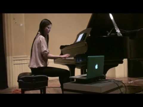 vicky chow / evolution contemporary music series / baltimore / 2014