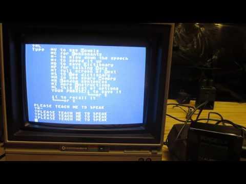 Demostración del Voice Box para Atari