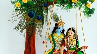 Radha Krishna good night beautiful video/good night video