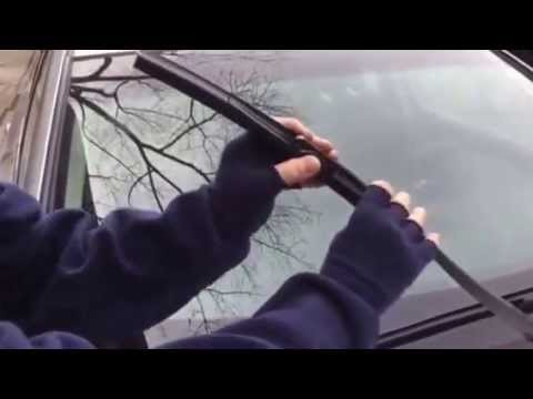 How To Replace Nissan Altima Wiper Blades Youtube