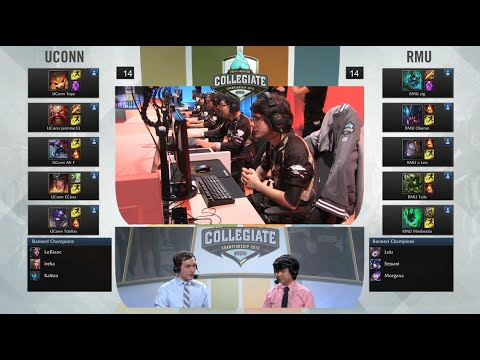 University of Connecticut vs Robert Morris University | Game 1 NACC Semi Finals | UCONN vs RMU G1