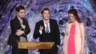 Robert Pattinson, Bryce Dallas Howard and Xavier Samuel wins the best fight