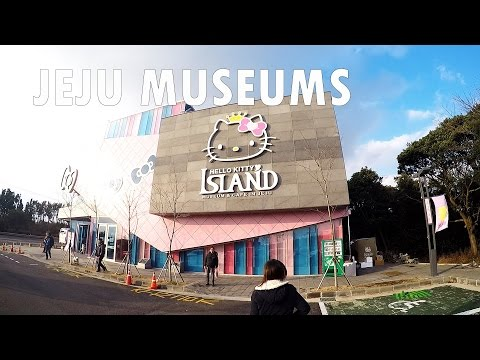 KOREA VLOG PART 6 - JEJU MUSEUMS, CHEONJIYEON WATERFALL