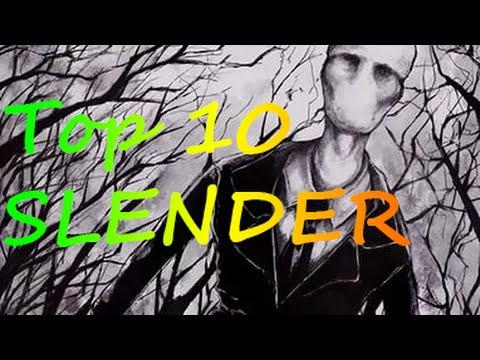 Топ 10 игр про слендера