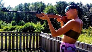 Пневматическая винтовка МР-512-26 дерево (Байкал) - тест и обзор глазами владельца