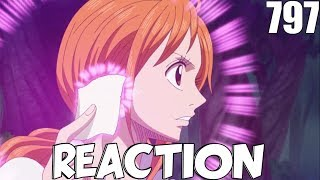 One Piece Episode 797 Reaction (Vivre Card Coming In Clutch!!!)