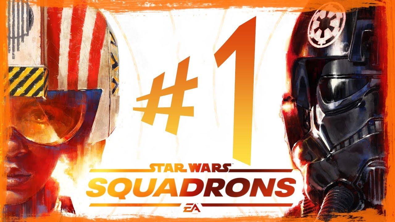 Star Wars Squadrons - Parte 1: A Queda Do Império!!! [ PC - Playthrough 4K ]